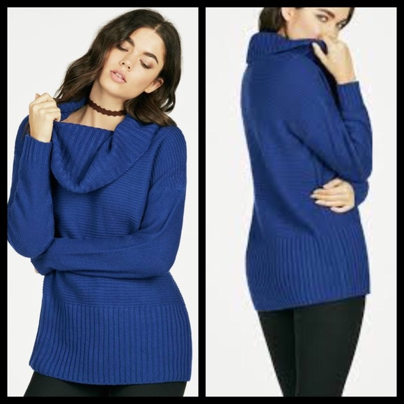 Just Fab Cowl Neck Sweater 1075452c7